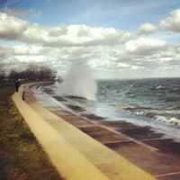 Foto tomada en Promontory Point Park por Leland R. el 10/28/2012