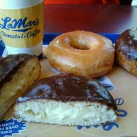 Photo taken at LaMar's Donuts and Coffee by David O. on 9/15/2012