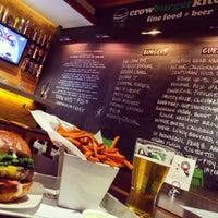 Foto diambil di Crow Burger Kitchen oleh Blair T. pada 1/5/2015