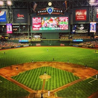 Photo taken at Chase Field by Ryan M. on 7/24/2013