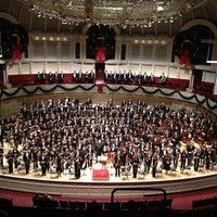 Foto tomada en Symphony Center (Chicago Symphony Orchestra) por Chris O. el 3/17/2013