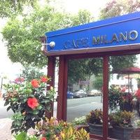 Das Foto wurde bei Cafe Milano von Patrick B. am 6/16/2013 aufgenommen
