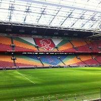 10/6/2012 tarihinde Stinoziyaretçi tarafından Johan Cruijf Arena'de çekilen fotoğraf