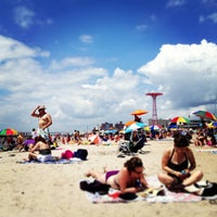 7/4/2013にKirsten A.がConey Island Beach & Boardwalkで撮った写真