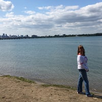 Photo Taken At Belle Isle Beach By Ronald V On 9 2017