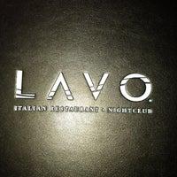 Das Foto wurde bei Lavo von Viviana V. am 10/7/2012 aufgenommen