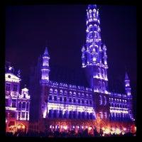 3/30/2013 tarihinde Aurelia B.ziyaretçi tarafından Grand Place / Grote Markt'de çekilen fotoğraf