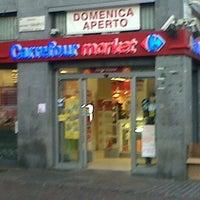 Das Foto wurde bei Carrefour Market von Antonio B. am 3/10/2013 aufgenommen
