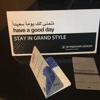 8/18/2017 tarihinde Sitti Berkis H.ziyaretçi tarafından Wyndham Grand Regency Doha Hotel'de çekilen fotoğraf