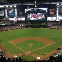 Photo taken at Chase Field by Mila B. on 4/14/2013