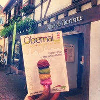 Photo prise au Office du Tourisme d'Obernai par Céline S. le6/7/2013