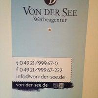 รูปภาพถ่ายที่ Werbeagentur VON DER SEE GmbH โดย Sebastian F. เมื่อ 11/1/2012