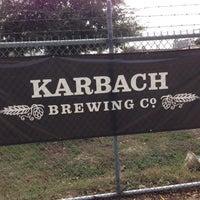 Снимок сделан в Karbach Brewing Co. пользователем aaron h. 11/14/2012
