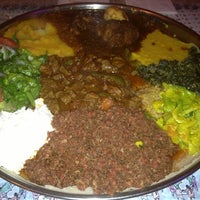 Foto scattata a Queen Sheba Ethopian Restaurant da Paul B. il 2/10/2013