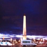 Das Foto wurde bei Obelisk von Luxor von Gennadiy K. am 11/21/2012 aufgenommen