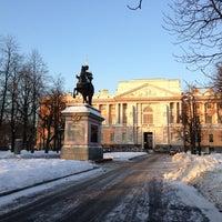 Снимок сделан в Михайловский (Инженерный) замок пользователем Марина И. 12/15/2012
