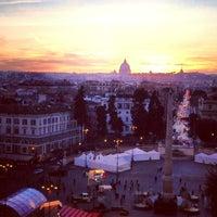 Foto scattata a Piazza del Popolo da Marina T. il 1/30/2013