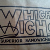 9/16/2011にSarah K.がWhich Wich? Superior Sandwichesで撮った写真