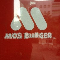 Photo prise au MOS Burger par Leonard le6/11/2012