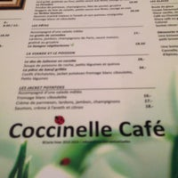 602845fc48ed6 ... Photo taken at Coccinelle Café by GM G. on 11 4 2013 ...