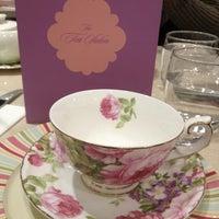 7/6/2013 tarihinde Donna G.ziyaretçi tarafından Tea Salon - The Victoria Room'de çekilen fotoğraf