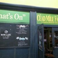 Снимок сделан в McMullan's Irish Pub пользователем Ryan G. 3/19/2013