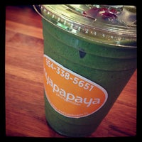 Foto tomada en Myapapaya juicery + kitchen  por Marc K. el 7/26/2013