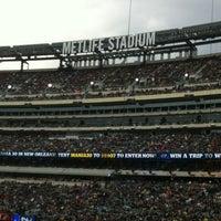 Foto tomada en MetLife Stadium por Effie B. el 4/10/2013