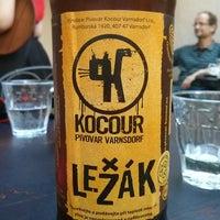 Foto diambil di Café Na kole oleh Kašpárek 🃏 pada 7/19/2014