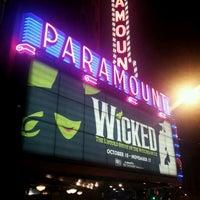 Das Foto wurde bei Paramount Theatre von Gabriel C. am 11/12/2012 aufgenommen
