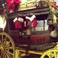 Photo taken at Wells Fargo History Museum by Julia B. on 12/13/2012
