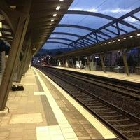 Das Foto wurde bei Bahnhof Jena Paradies von Thilo K. am 9/12/2013 aufgenommen