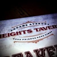 Das Foto wurde bei Heights Tavern von Randy B. am 5/11/2013 aufgenommen