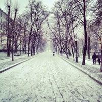 Снимок сделан в Тверской бульвар пользователем Vladlen E. 11/26/2012