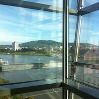 Photo taken at Ars Electronica Center by Robert E. on 10/13/2012