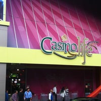 Снимок сделан в Casino Life пользователем Belén P. 7/7/2013