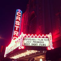 Photo prise au Castro Theatre par Desigan C. le3/22/2013
