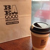 Das Foto wurde bei Be A Good Neighbor Coffee Kiosk von Gonzales_ h. am 1/7/2013 aufgenommen