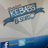 Foto tomada en Kebabs El Sordo por Amir B. el 5/15/2013