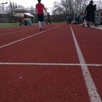 Das Foto wurde bei Mainz Athletics Ballpark von Bettina J. am 4/14/2013 aufgenommen