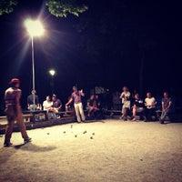 Das Foto wurde bei Bouleplatz am Ufer von Jorge D. am 6/21/2013 aufgenommen
