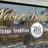 Снимок сделан в Weber's Bakery пользователем Maribeth R. 1/9/2014