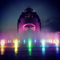 Foto diambil di Monumento a la Revolución Mexicana oleh Jahaziel I. pada 3/9/2013