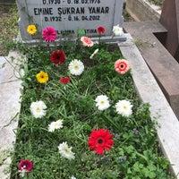 4/17/2017 tarihinde Derya S.ziyaretçi tarafından Bakırköy Mezarlığı'de çekilen fotoğraf
