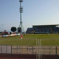 Das Foto wurde bei NK Rijeka - Stadion Kantrida von Cos A. am 7/28/2013 aufgenommen