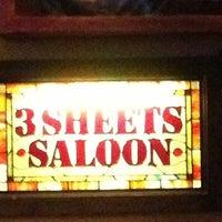 รูปภาพถ่ายที่ 3 Sheets Saloon โดย Mac เมื่อ 4/13/2013