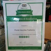 Foto tomada en Trattoria Ponte Vecchio por Gianlu C. el 6/21/2014