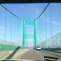 รูปภาพถ่ายที่ Vincent Thomas Bridge โดย Sabrina A. เมื่อ 3/24/2013