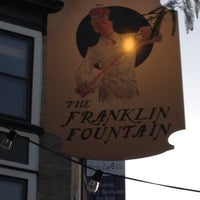 Das Foto wurde bei The Franklin Fountain von Zachary U. am 8/24/2013 aufgenommen