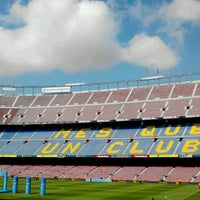 Foto tomada en Camp Nou por Zahira I. el 6/3/2013